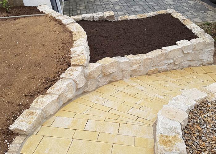 Pflaster- und Steinarbeiten